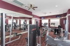 Strength training equipment at the fitness center